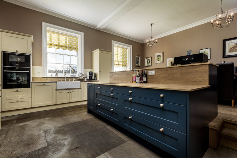 Hoveton Contemporary Bespoke Kitchen