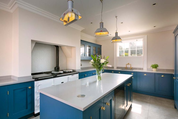 Nelson House – Contemporary bespoke shaker kitchen Norfolk