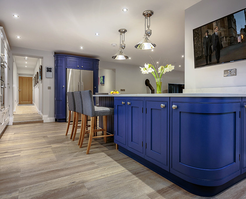 Luxury bespoke shaker kitchen, Norfolk