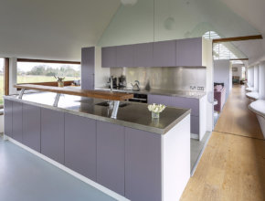 Bespoke kitchen in Nofolk barn