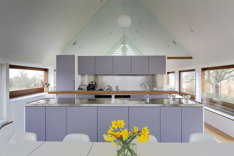 Handmade Kitchen in Norfolk Barn