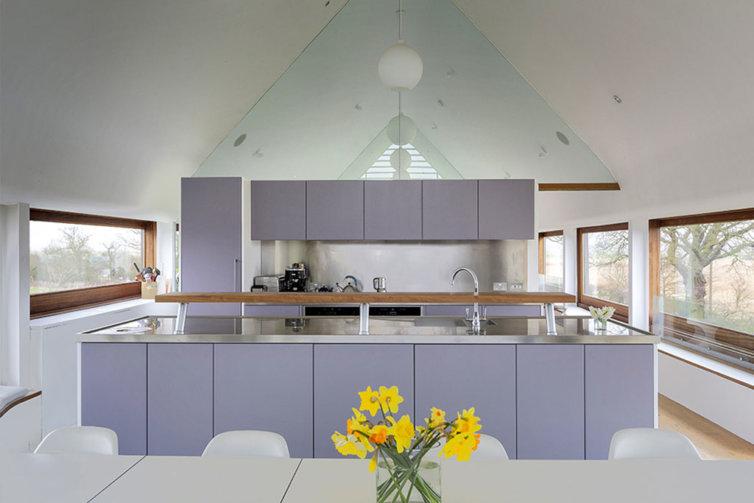 Handmade Kitchen in Norfolk Barn