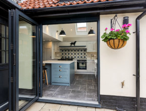 Norfolk farmhouse kitchen