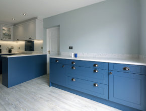 luxury shaker kitchen, norfolk