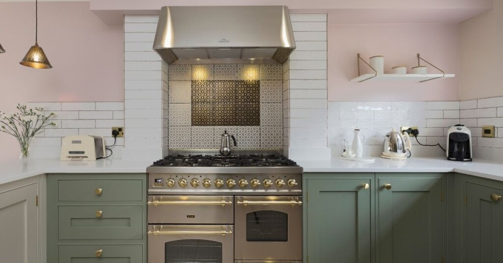 Warm earthy paint finishes kestrel kitchens