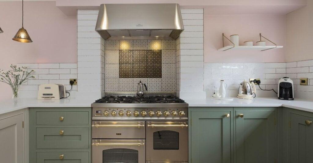 Warm earthy paint finishes kestrel kitchens