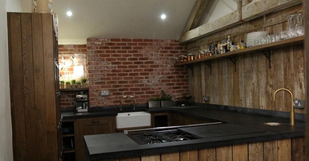 dark surfaces kestrel kitchens