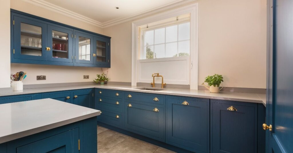 gold finishes kestrel kitchens