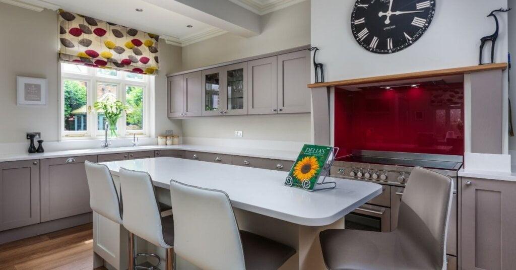 Red kitchens - Kestrel Kitchens