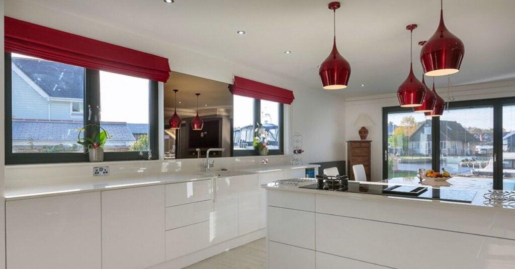 white kitchens by kestrel kitchens