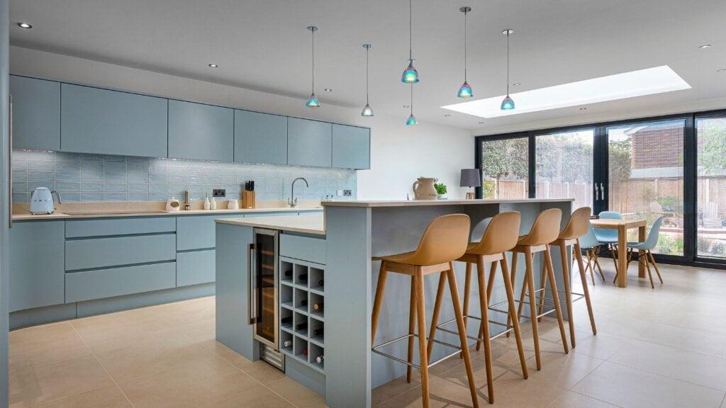 Coastal kitchen design by kestrel kitchens