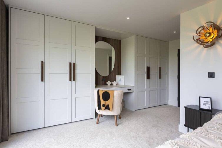 Beautiful bedroom storage