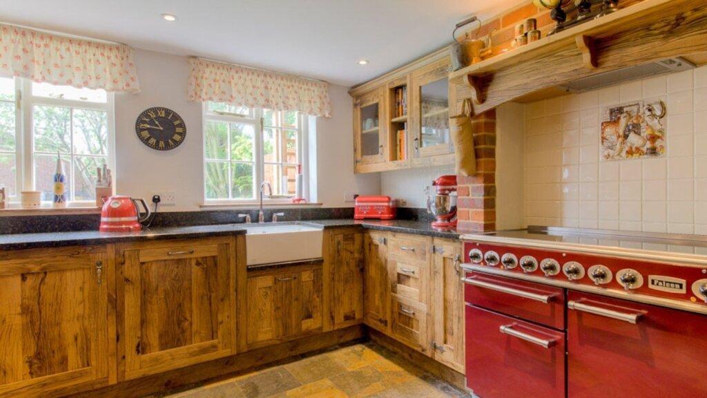Rustic kitchen design by kestrel kitchens