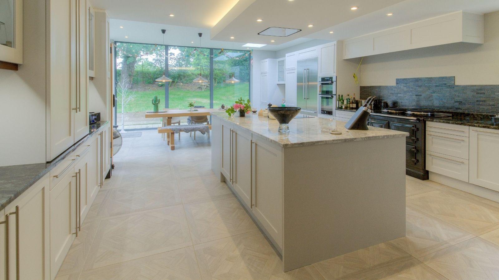 Kitchen islands in open-plan kitchen design - Kestrel Kitchens