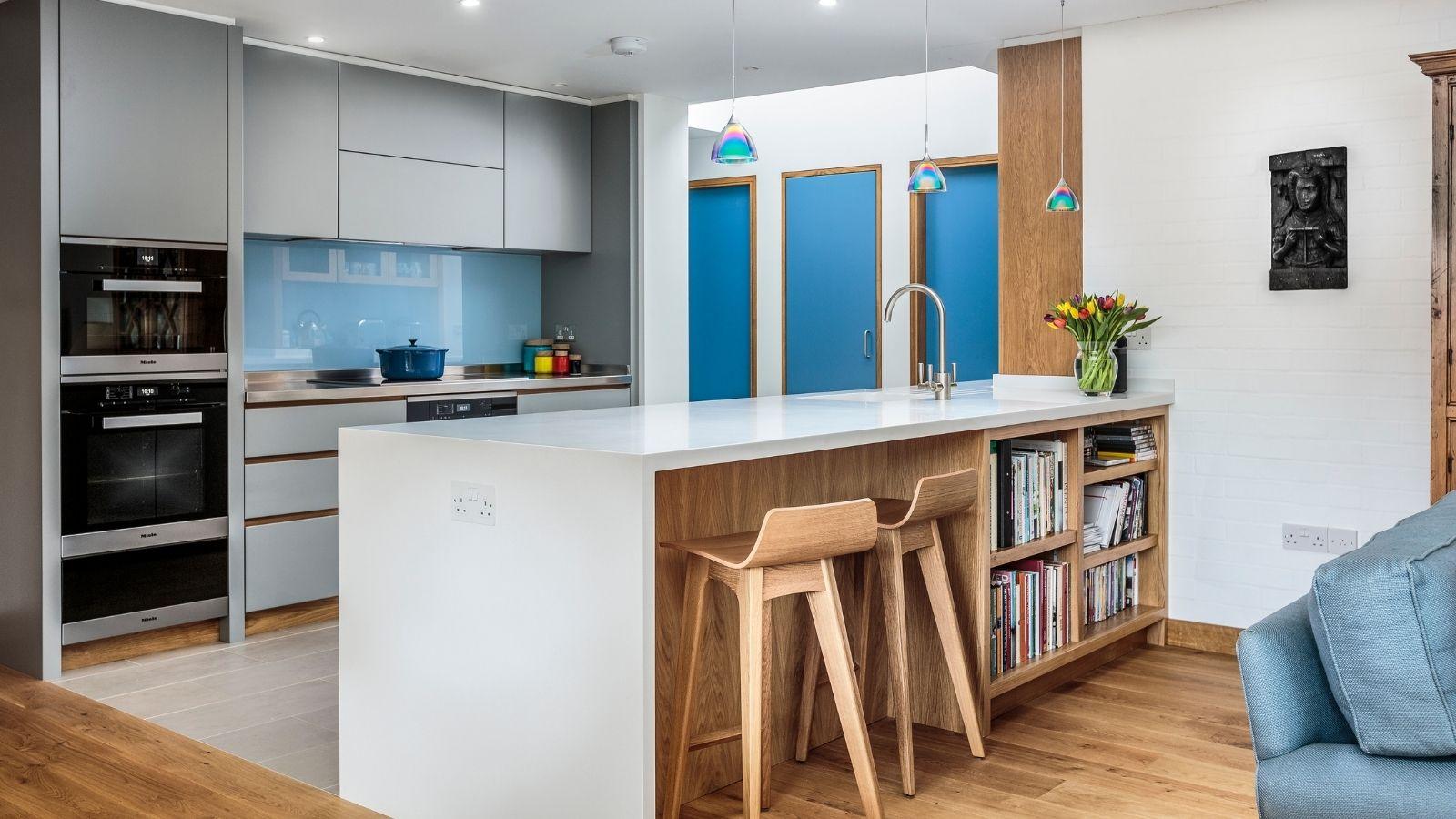open plan kitchen design ideas from Kestrel Kitchens
