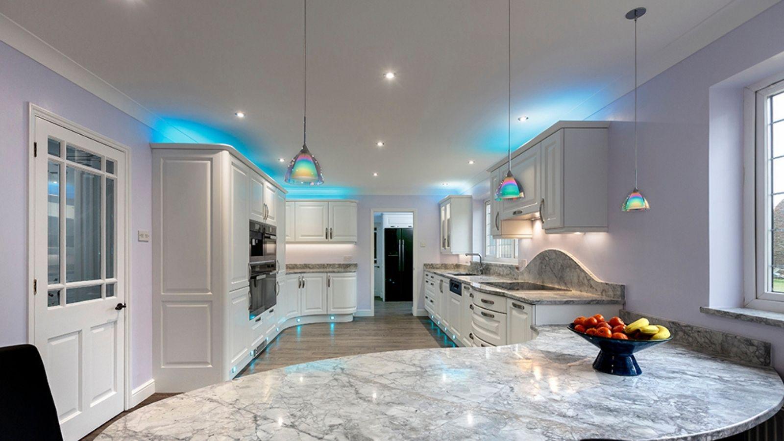 Kitchen cabinet illumination - Kestrel Kitchens