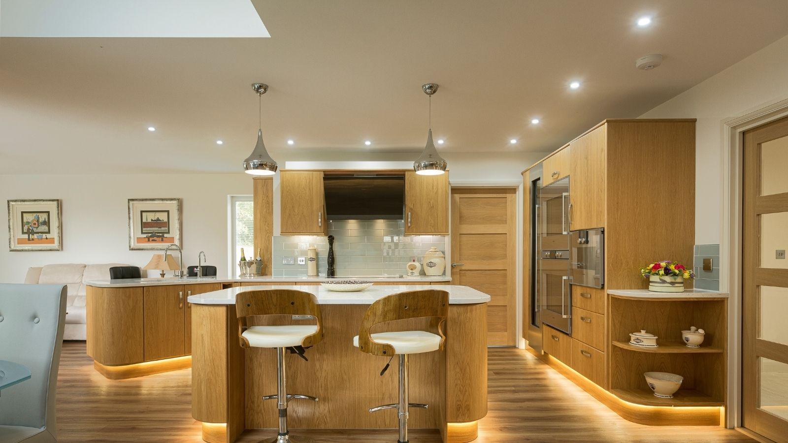 Profile lighting - Kestrel Kitchens