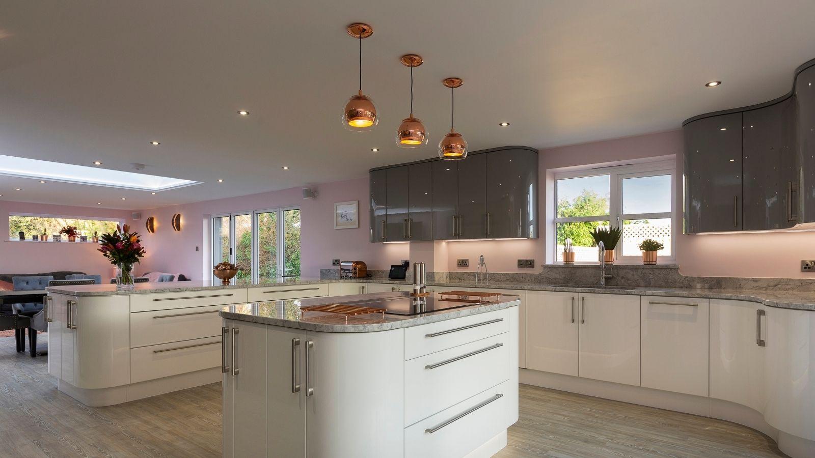 kitchen lighting - Kestrel Kitchens